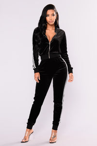 Kayley Loungewear Set - Black
