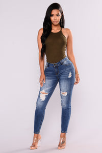 Ruby Tank Top - Olive