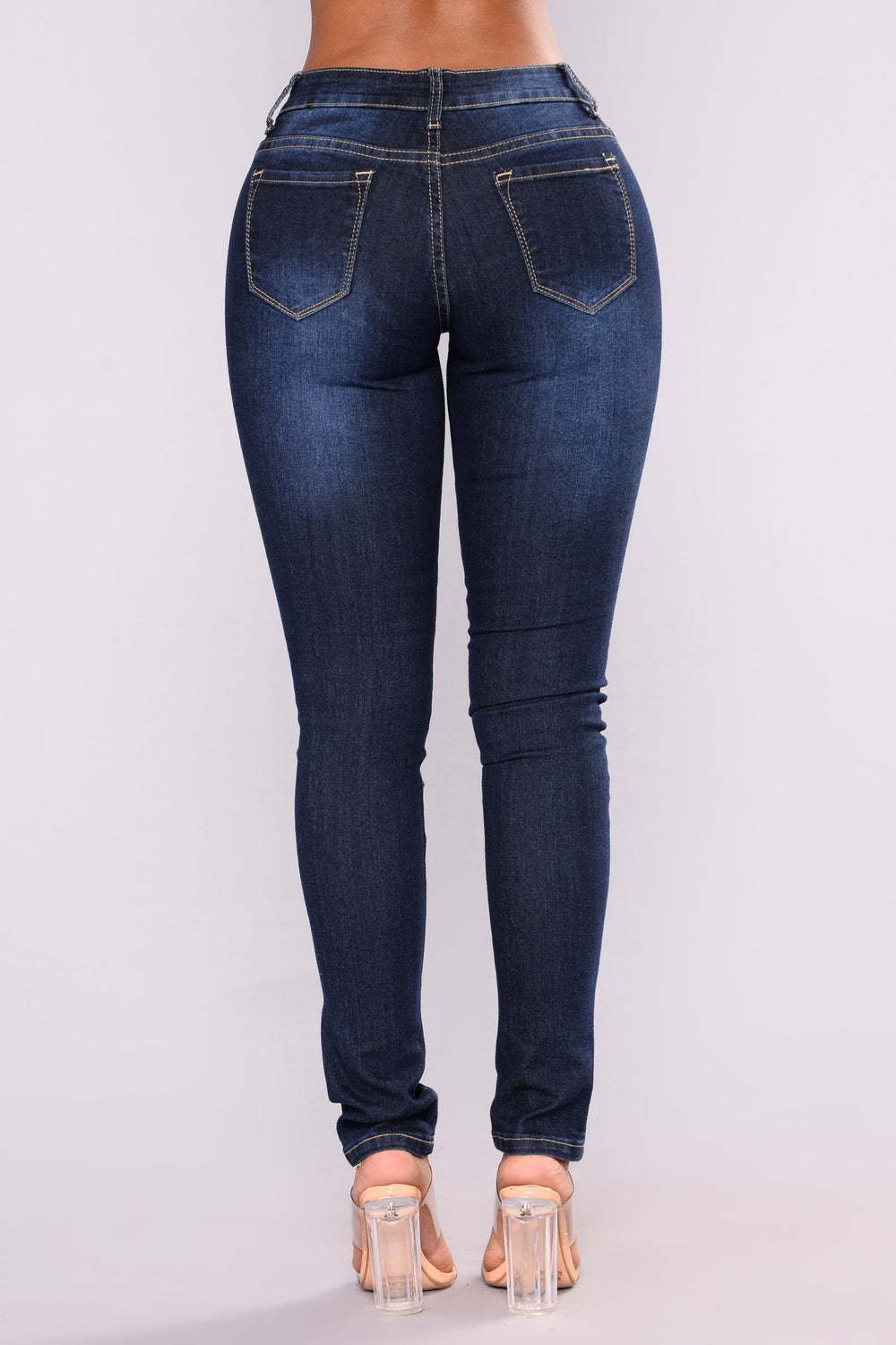 Your Boo Skinny Jeans - Dark Denim