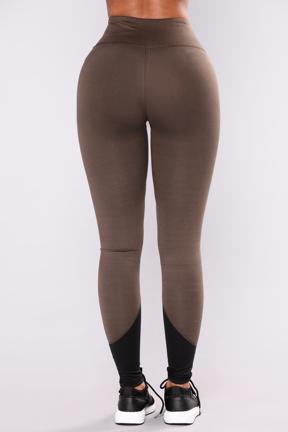 Roxana Active Leggings - Olive