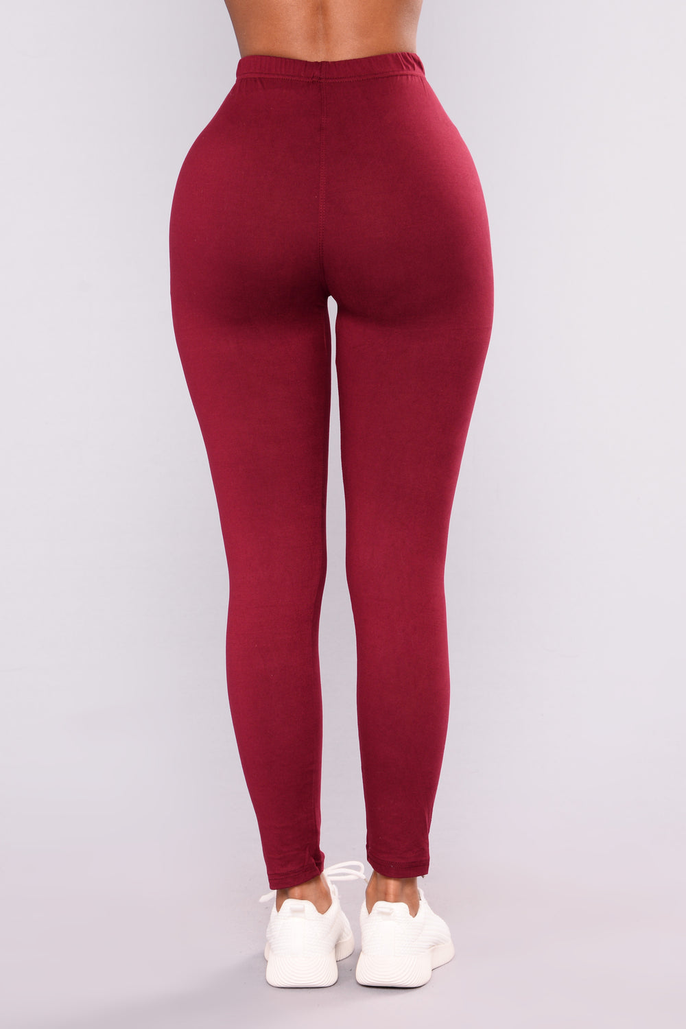 On The Daily Leggings - Burgundy