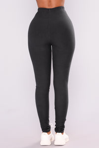 On The Daily Leggings - Charcoal