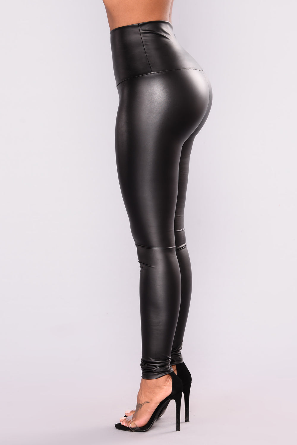Super High Rise Leggings - Black