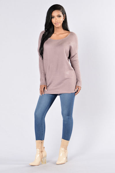 Sail on Sweater - Lavender