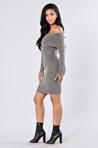 East Village Dress - Charcoal