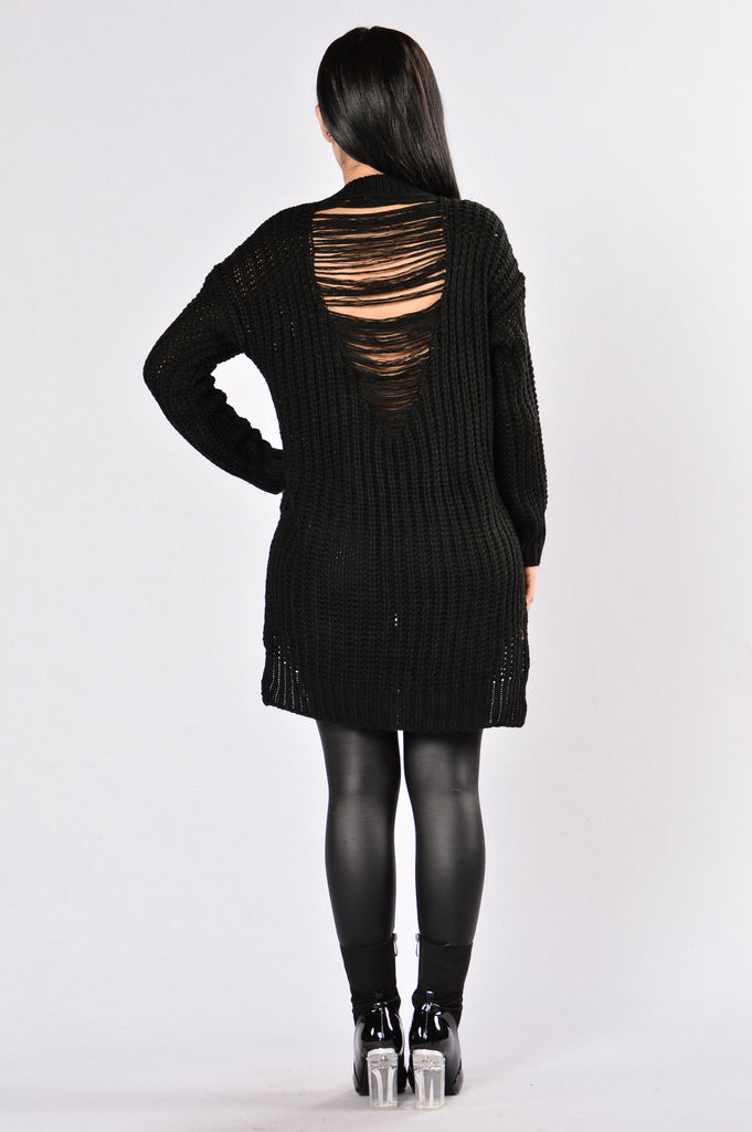 Unwind Sweater - Black