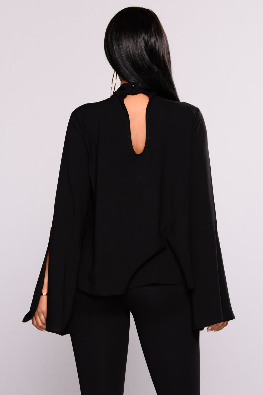 Robbin Choker Top - Black