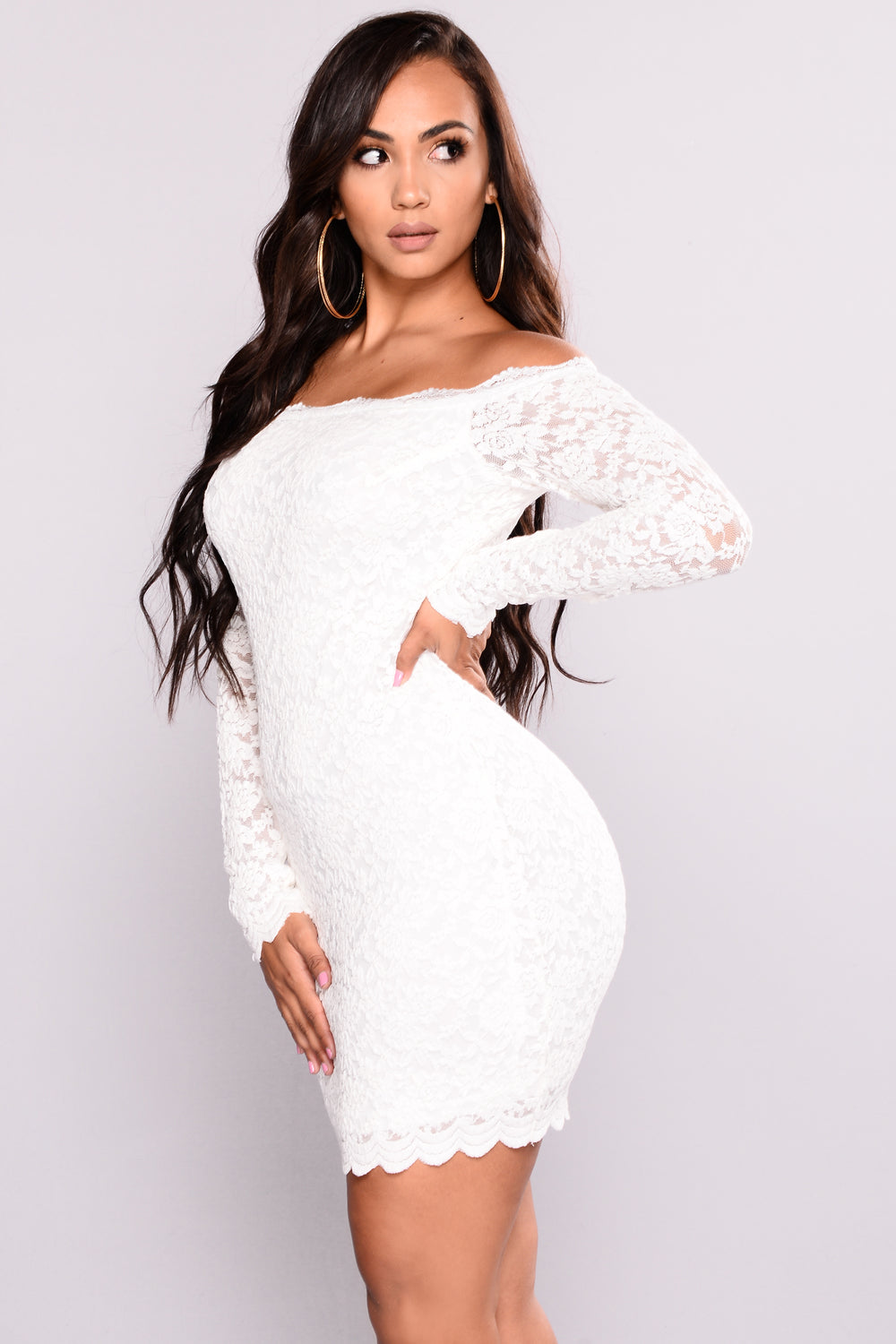 Black and white bodycon dress for sale