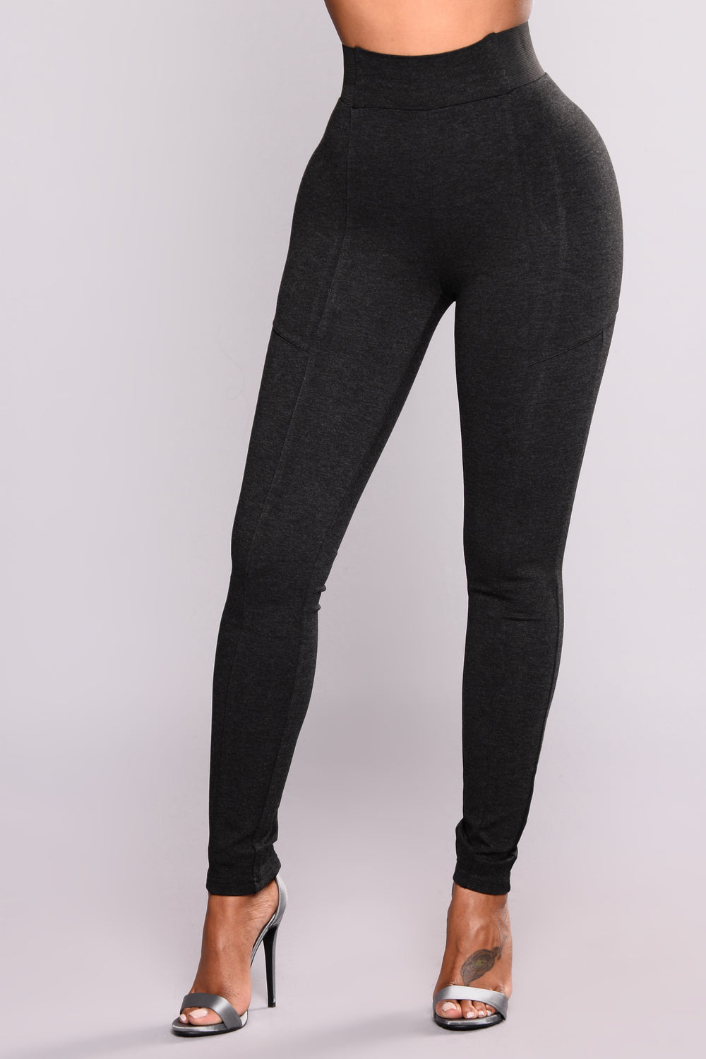 Let it Go High Rise Leggings - Grey