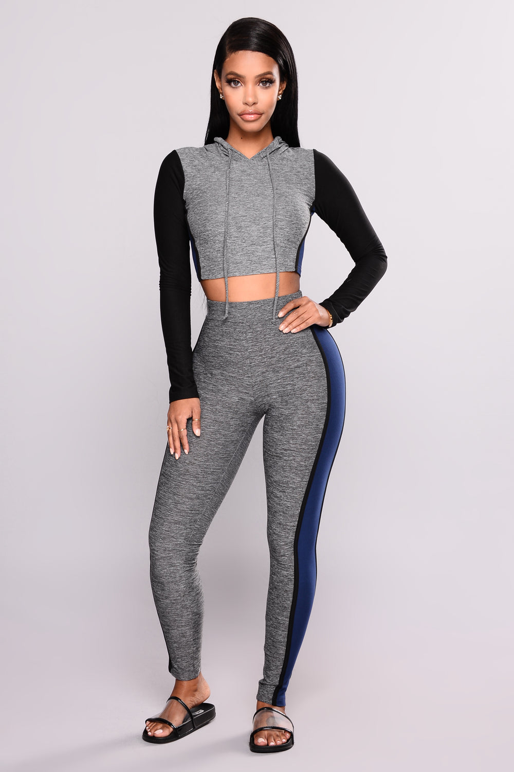 Black Me Out Set - Grey