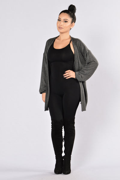If Only Cardigan - Black