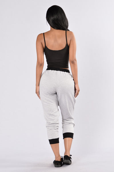 Lone Star Joggers - Grey