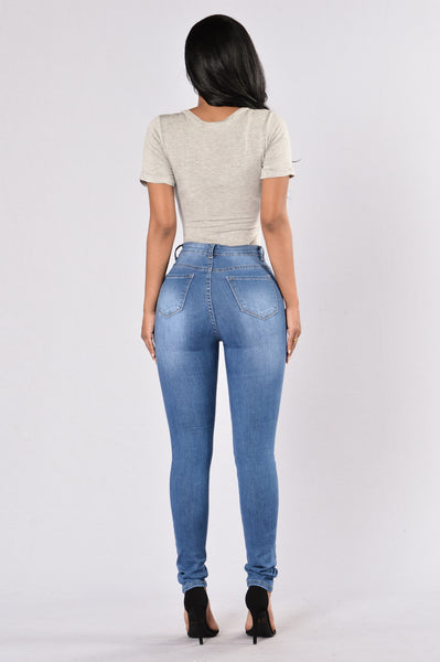 Beg For It High Rise Jean - Medium