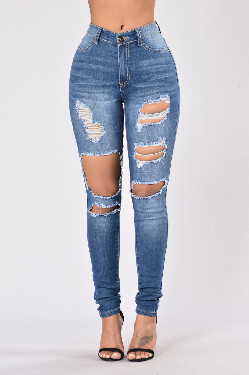 Ain't Thinking About You High Waist Jean - Medium