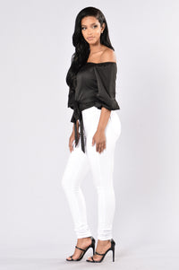 Little Black Book Top - Black
