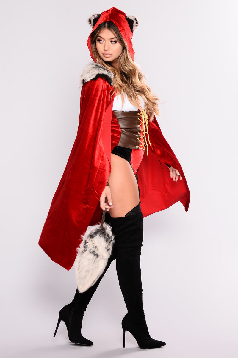 86244d639a2 Red Haute Storybook Costume - Red