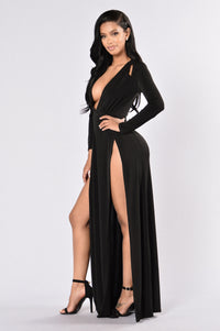 Gone With The Wind Fabulous Dress - Black