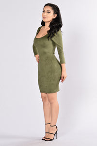 Springsteen Dress - Olive