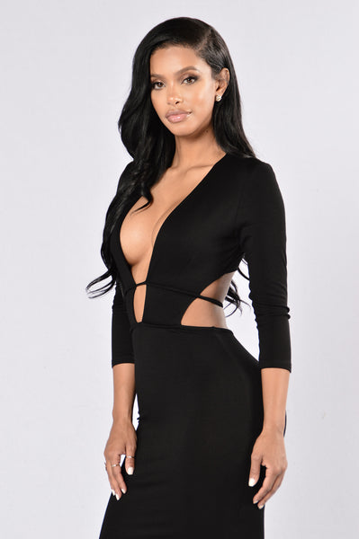 Retention Dress - Black