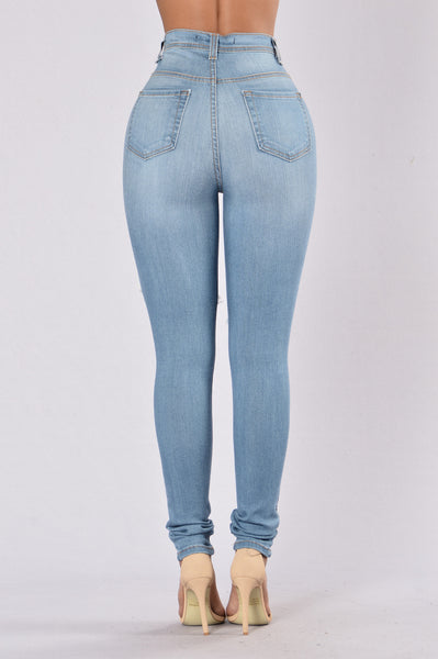 I'm Exposed Jeans - Medium Blue