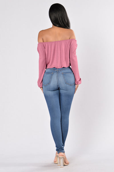Lea Top - Rose Berry