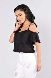 Chill Day Top - Black