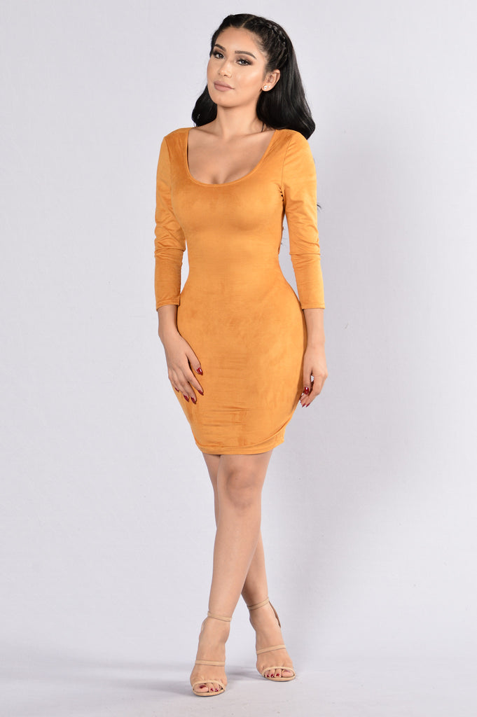 Springsteen Dress - Mustard