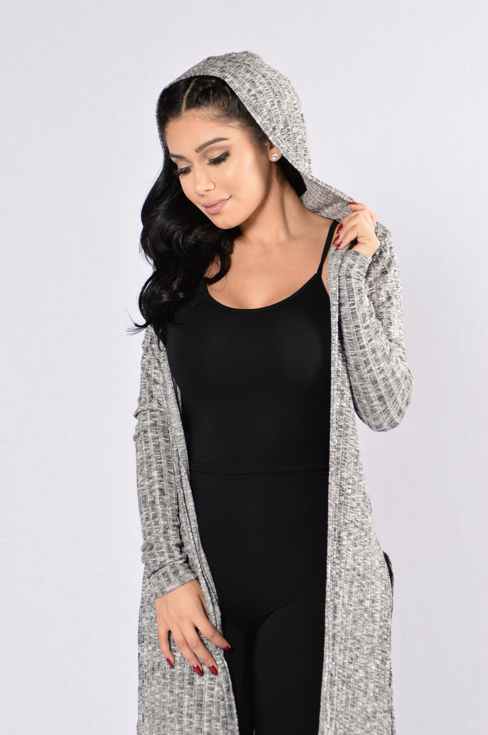 Dream All Day Sweater - Grey