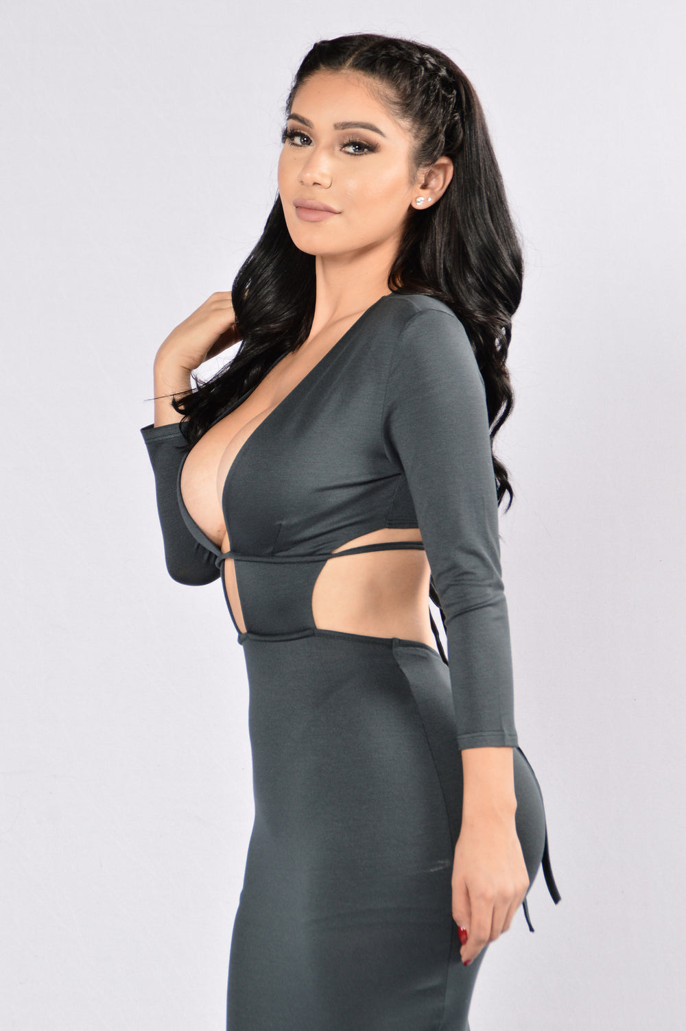 Retention Dress - Hunter Green