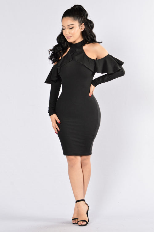 Going Strong Dress - Black