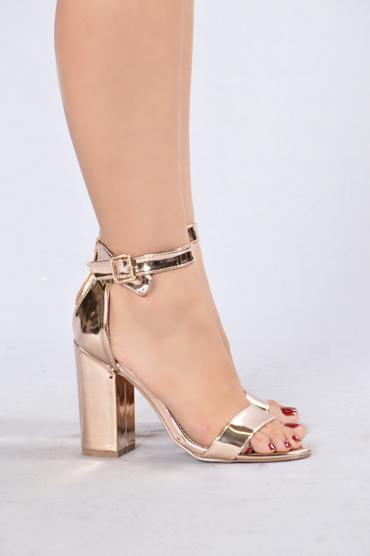 Estella Heel - Rose Gold