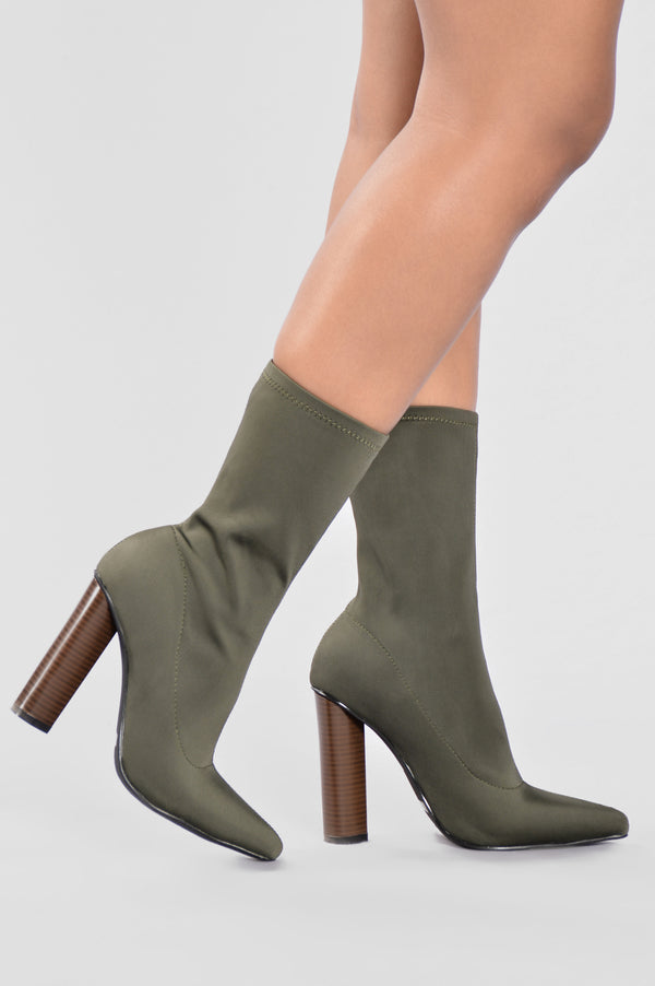 9cf236bf94 King Of Me Boot - Olive
