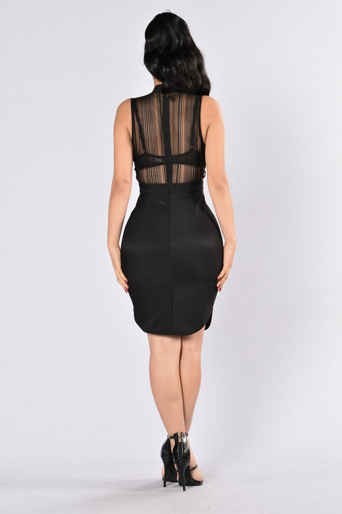 Ready For Your Love Dress - Black
