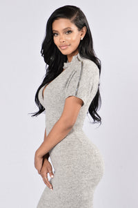 You and I Dress - Heather Grey