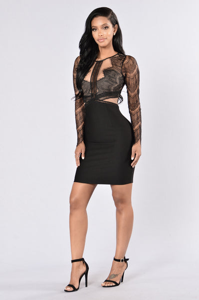 Queen City Dress - Black