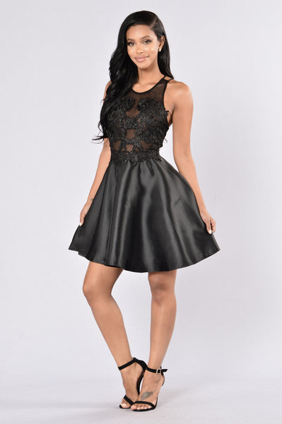 Something About You Dress - Black