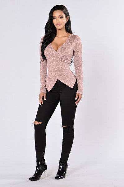 Living For The City Top - Pink
