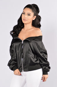 Culture Shock Jacket - Black