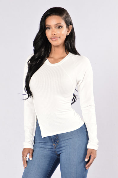 It's In The Details Top - Ivory