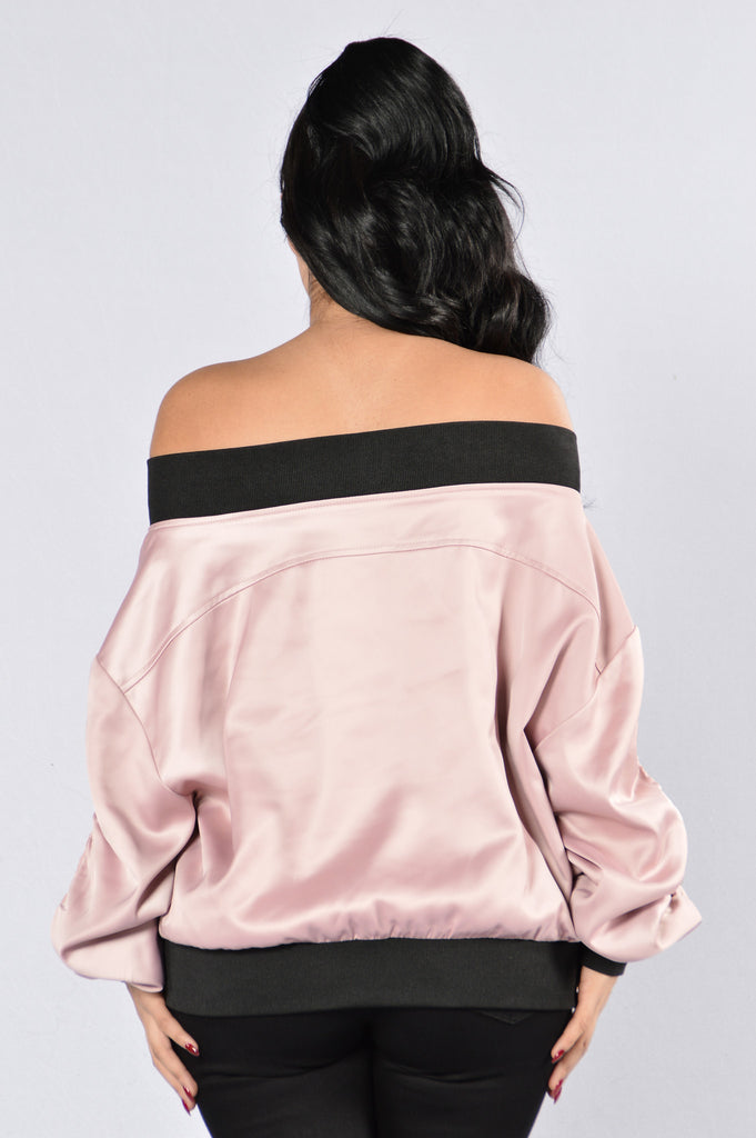 Culture Shock Jacket - Mauve