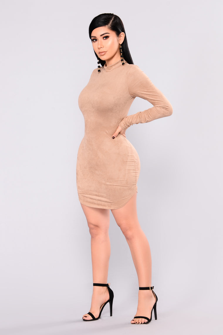 Beverly Center Suede Tunic - Mocha