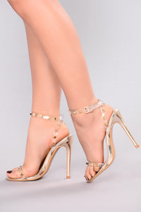 She's A Stud Heel - Gold