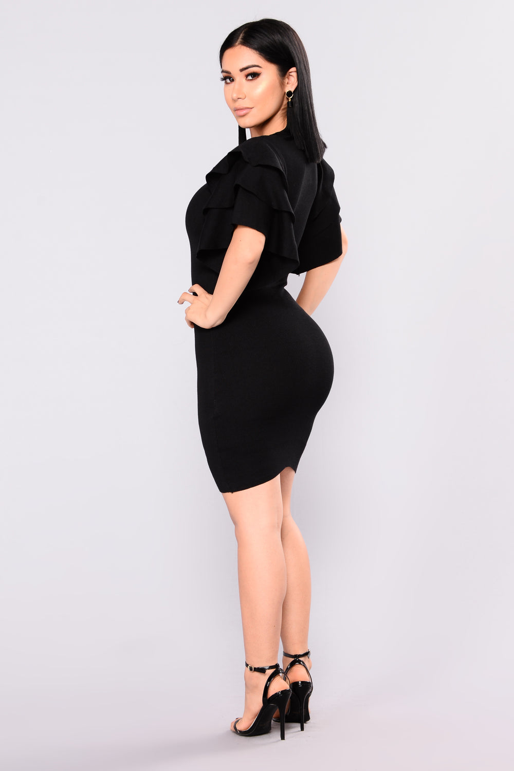 Madden Knit Dress - Black
