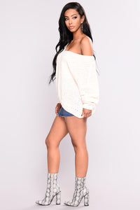 Bianca OverSized Sweater - Ivory