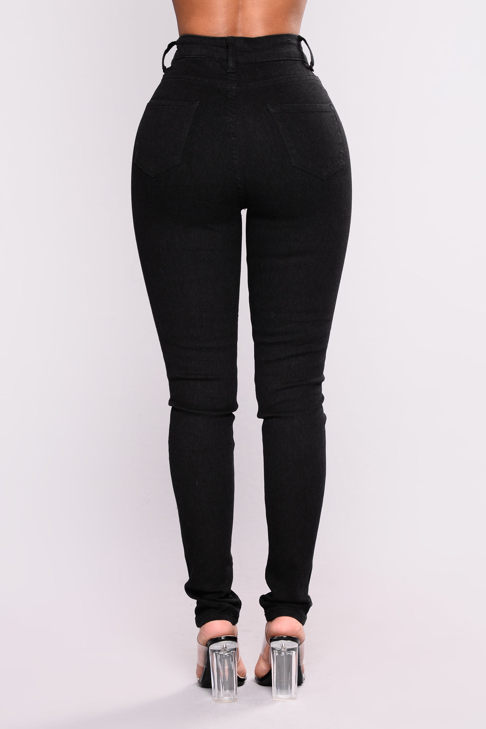 Heaven Sent Skinny Jeans - Black