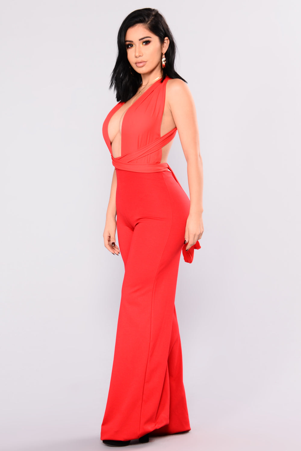 Multitalented Jumpsuit - Red