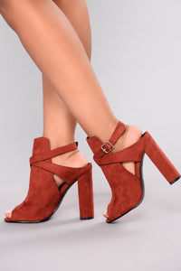 Best On The Block Bootie - Rust
