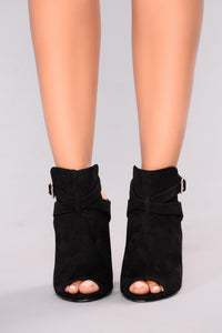 Best On The Block Bootie - Black