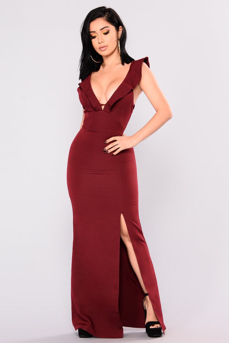 Appeal Maxi Dress - Wine