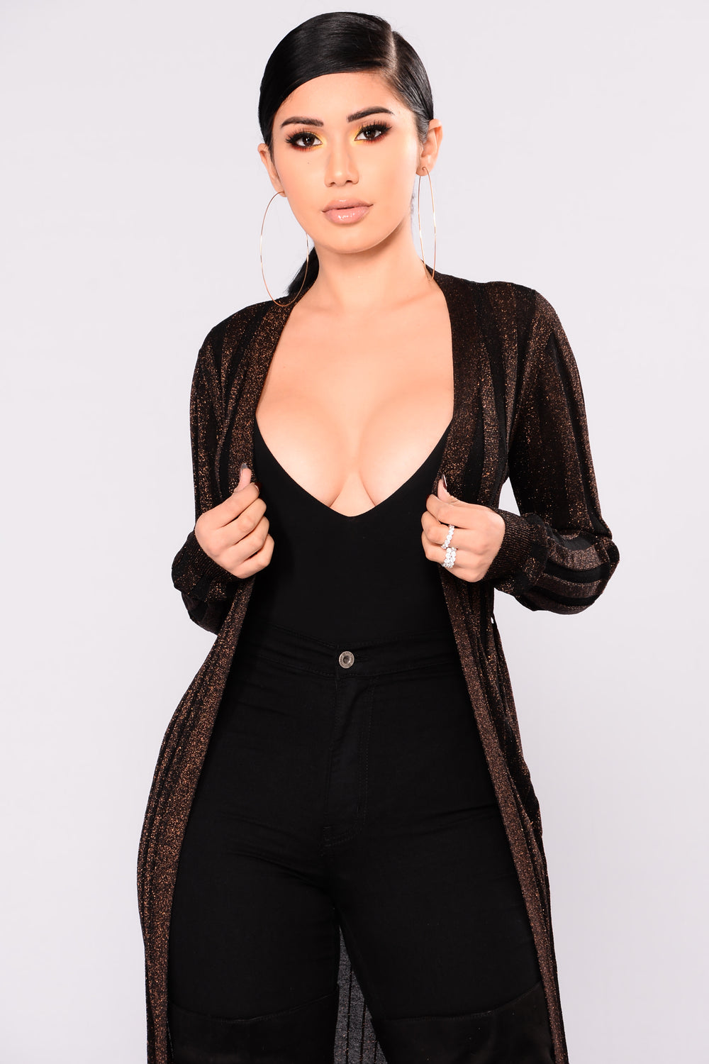 Cindy Cardigan - Bronze
